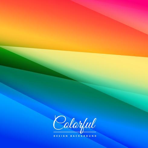 prachtige kleurrijke achtergrond ontwerp poster vector ontwerp illust