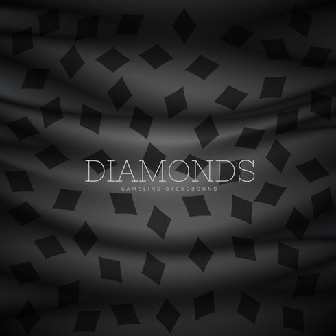 diamond symbol dark pattern background