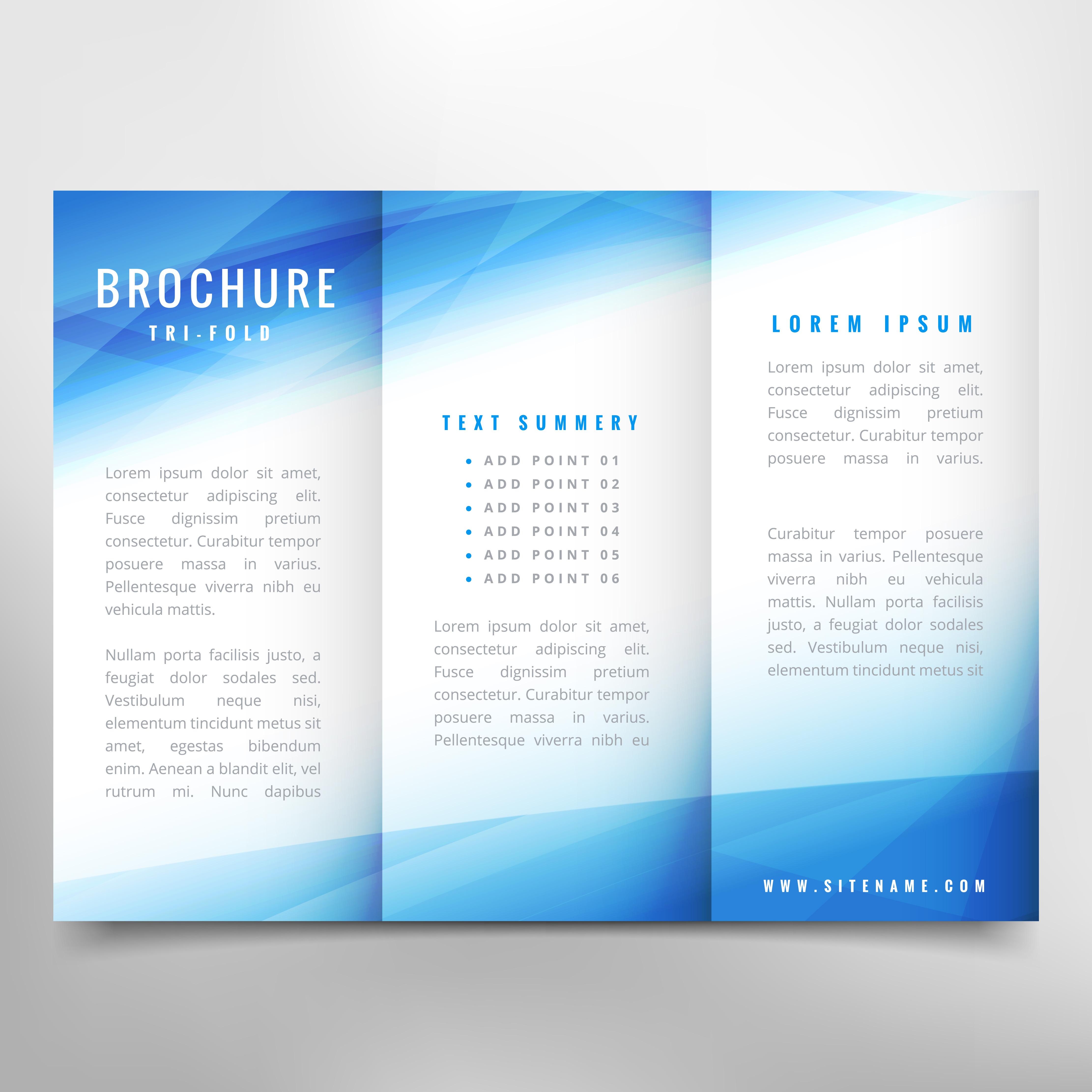 Business Brochure Design Download Free Vector Art Stock