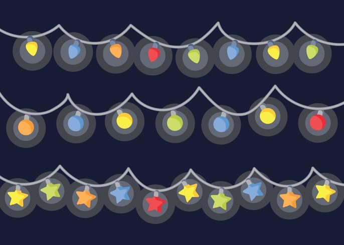 Free Christmas Lights Vector