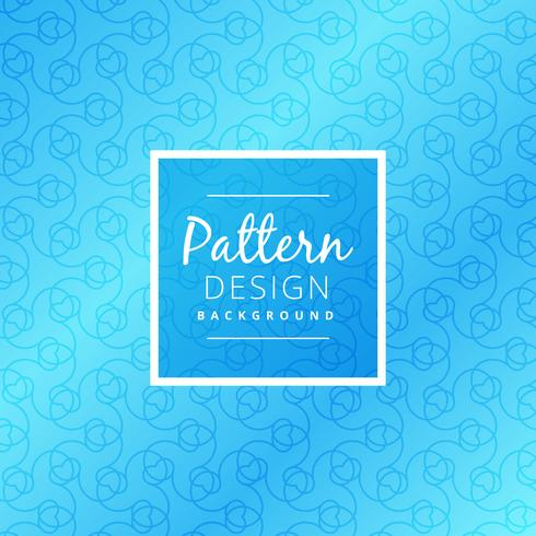 modern seamless blue pattern vector design illustration