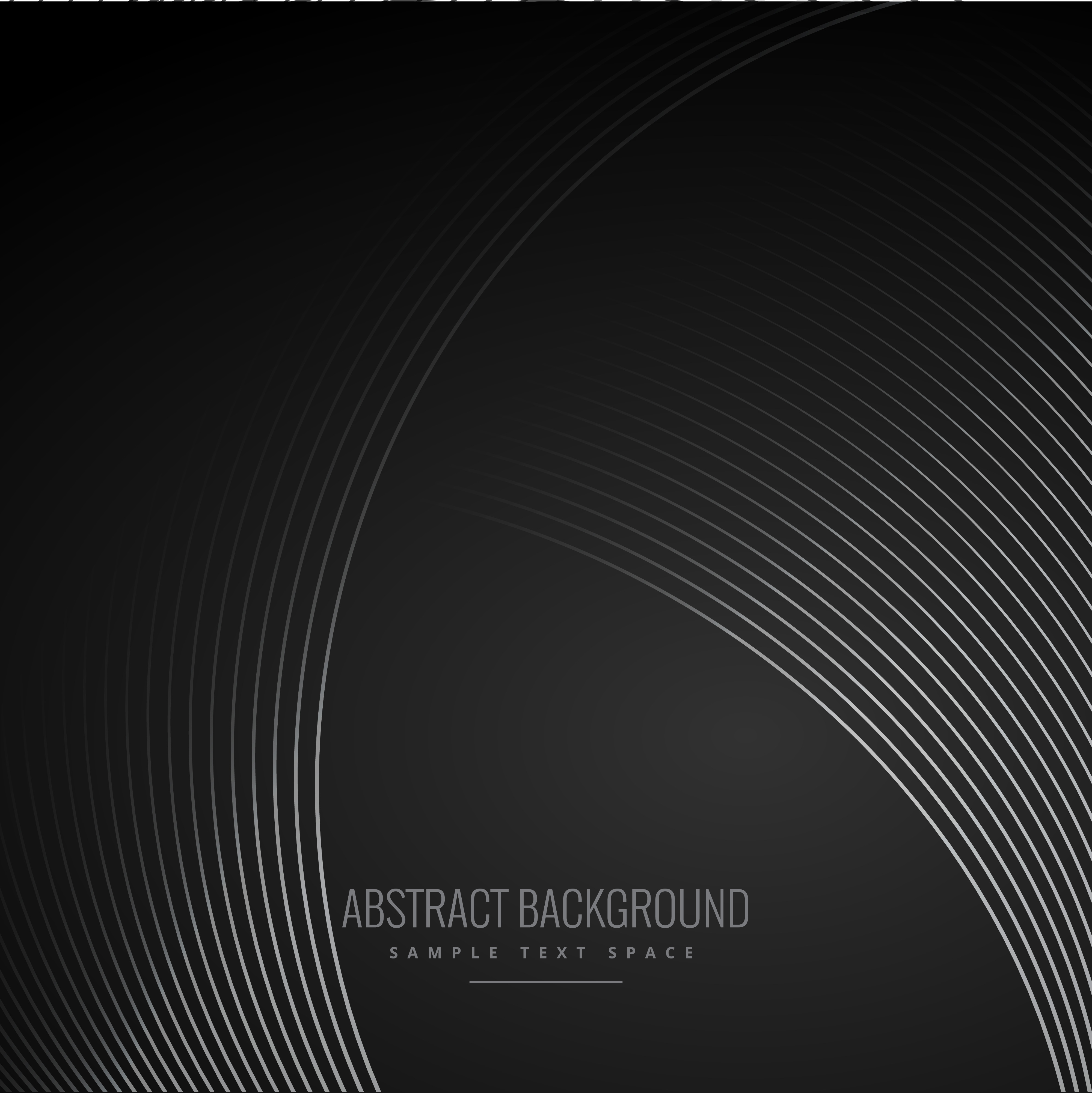 Drawing Smooth Curved Lines In Photo : Smooth curve lines in dark black background download