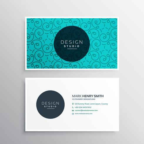 elegant corporate business card identity