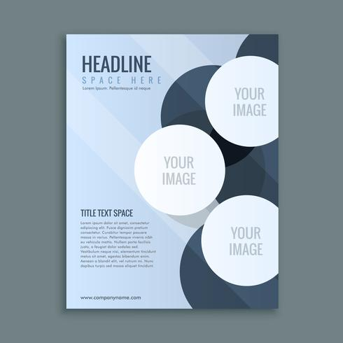 abstract business brochure page layout download free vector art