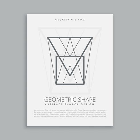 futuristic geometric shape