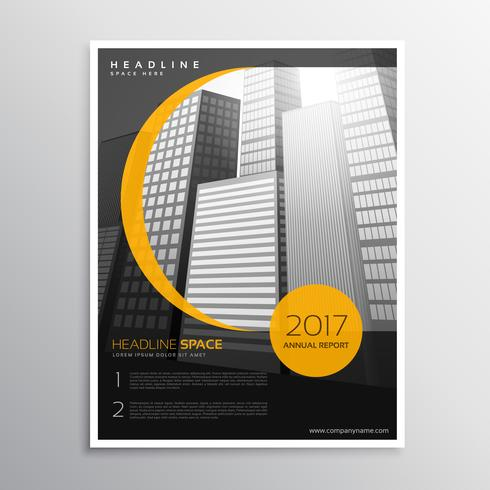 business magazine cover template design