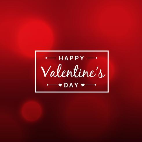 abstract beautiful valentines day red background vector design i