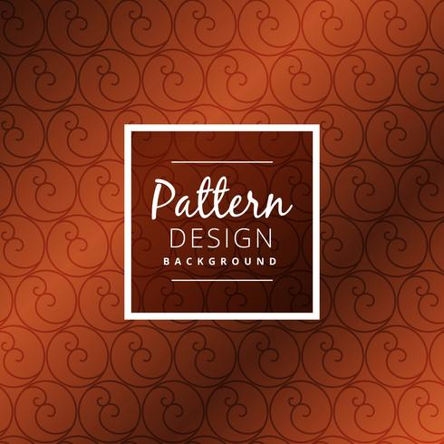 brown circle pattern background vector design illustration