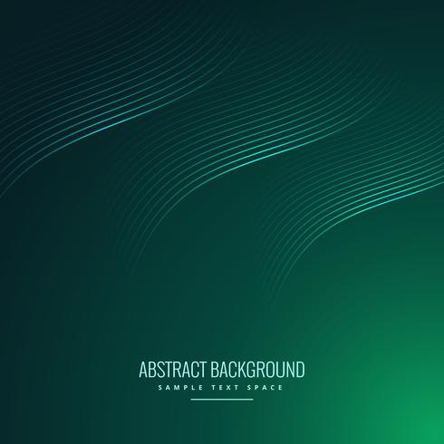 green background with wavy lines