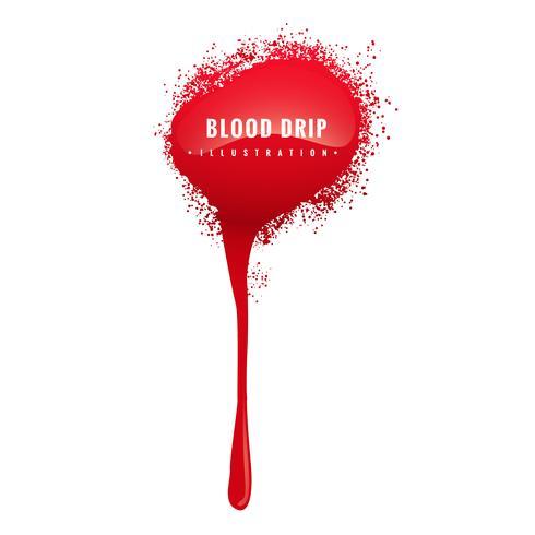 grunge blood drip