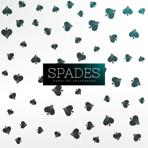 spades background of playing cards