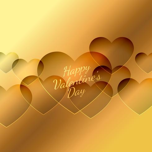 valentines day hearts background vector design illustration