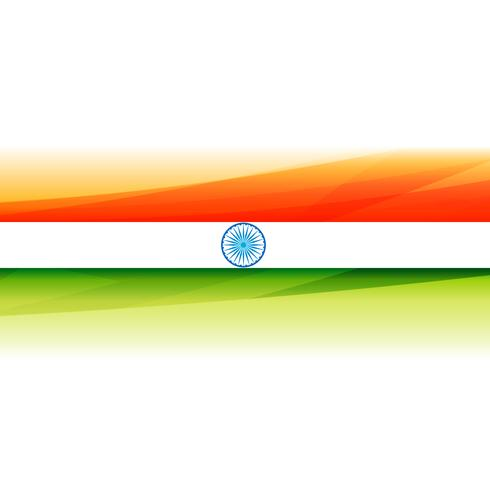 beautiful indian flag background vector design illustration