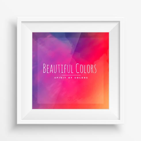 colorful background poster