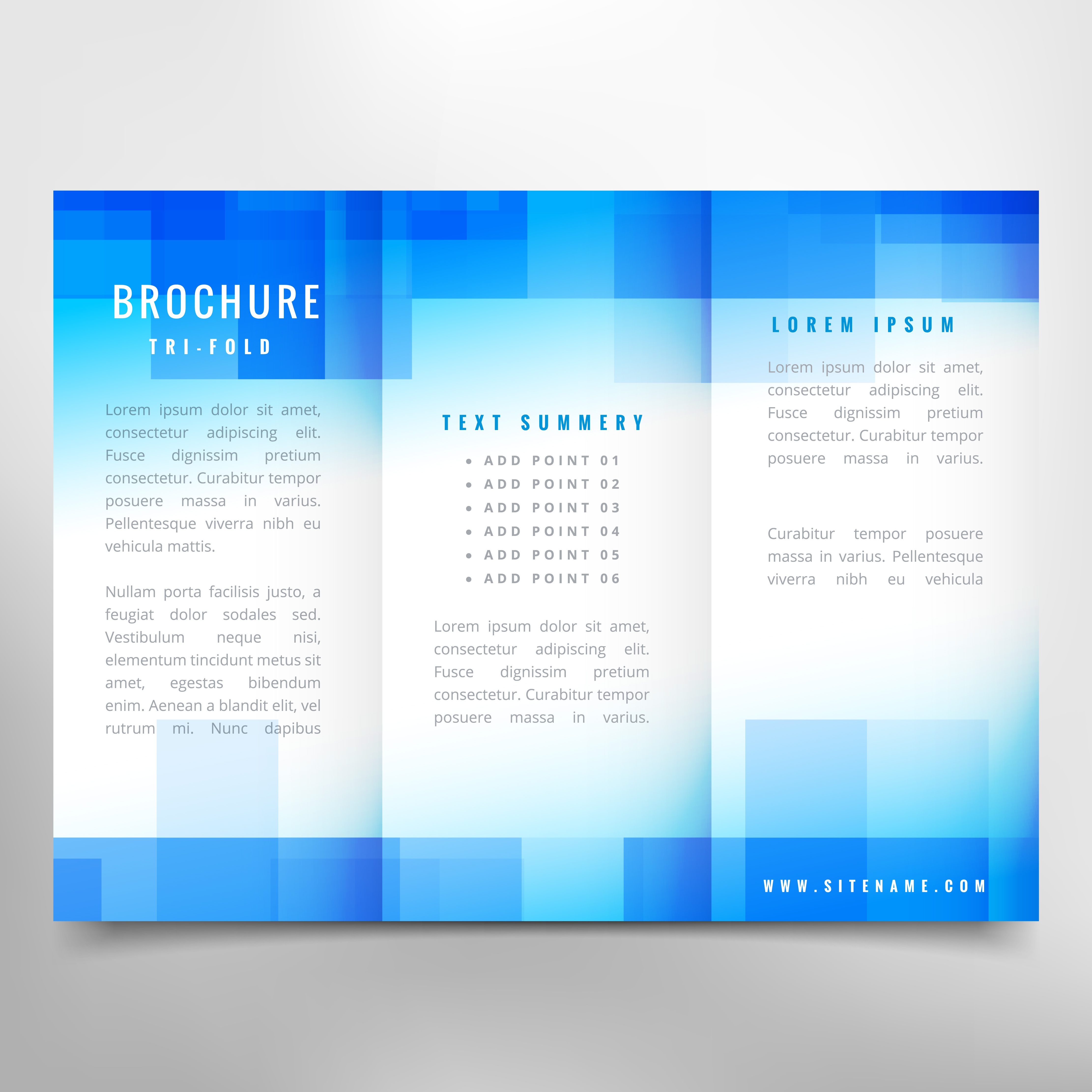 trifold brochure free vector art 6625 free downloads