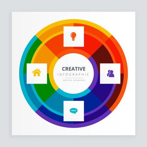 concetto di infografica creativa