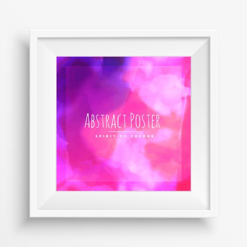 pink purple abstract ink cloud