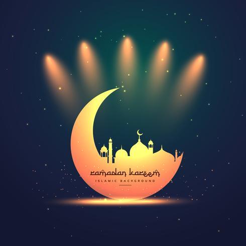 Ramadan Kareem Fête Salutations