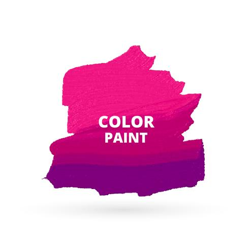 Pink Color Paint Design