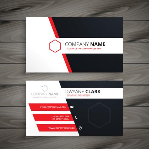 creative visit card  template vector design illustration