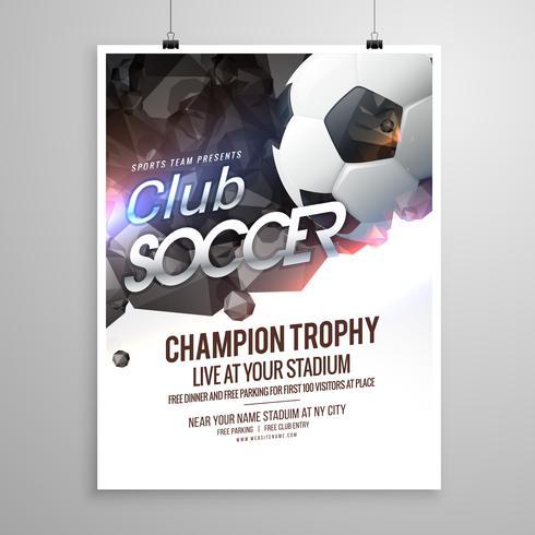 Sports Brochure Template Datariouruguay