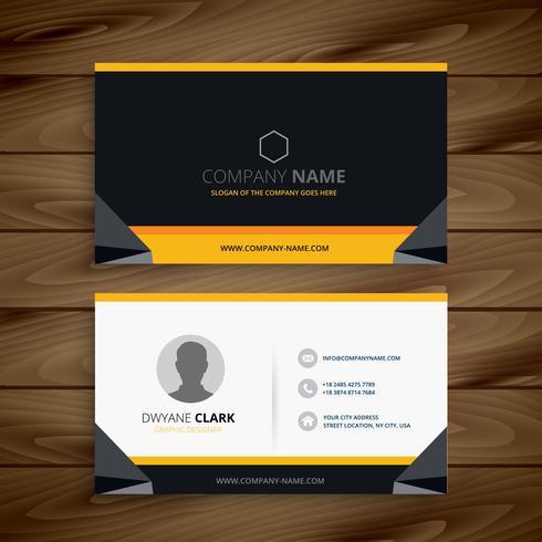 modern creative business card. Business vector design illustrati