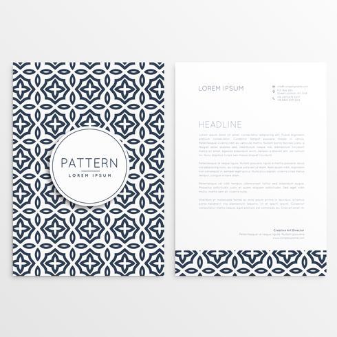 minimal business letterhead template