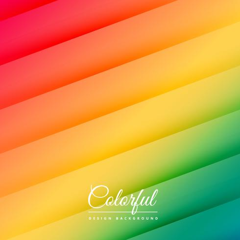 abstract colorful lines background poster vector design illustra