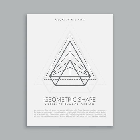 abstract geometric symbol