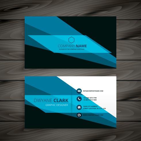 abstrakter kreativer Visitenkarteschablonenvektor-Design illustrat