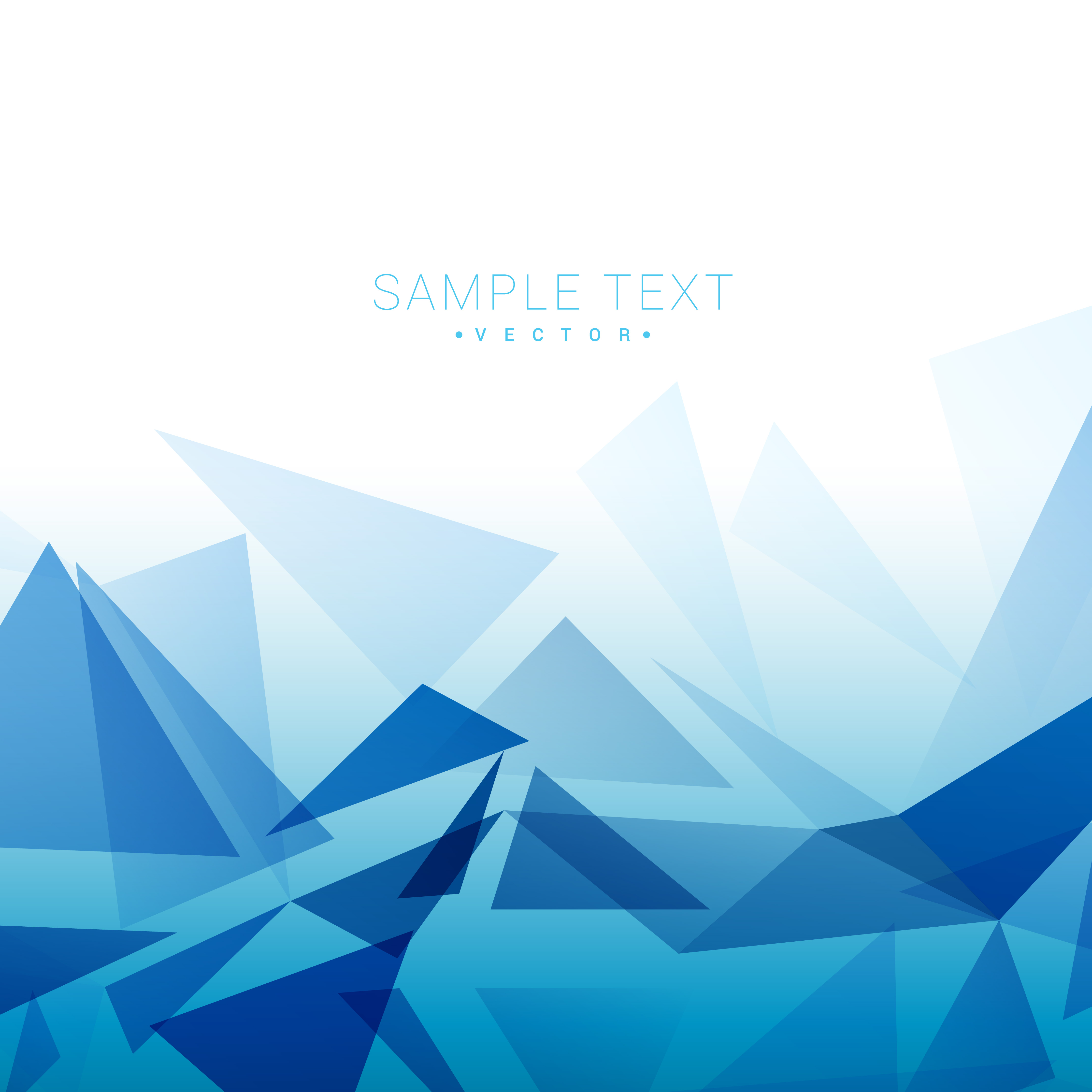 triangle shapes background