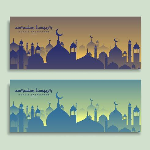 Eid und Ramadan Festival Banner