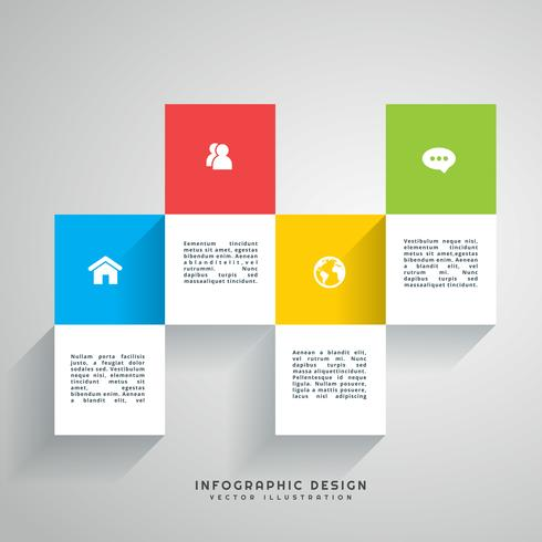 colorful infographic design