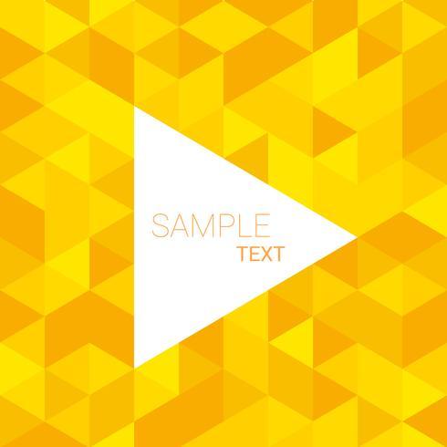 yellow triangle patterns