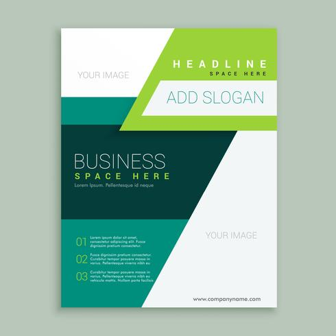 flyer brochure design in A4 size for your business