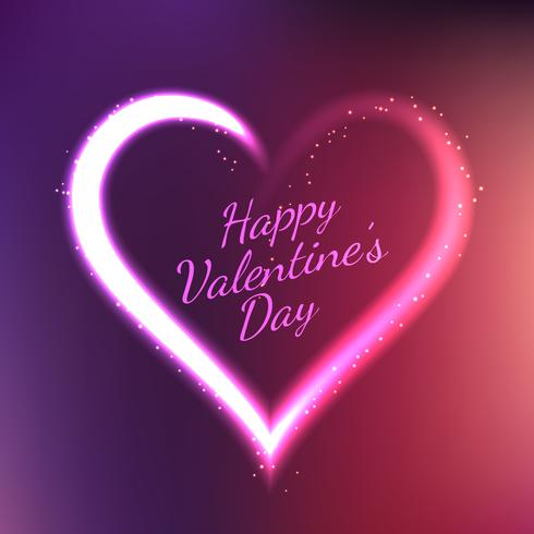 beautiful valentines day card vector design illustration