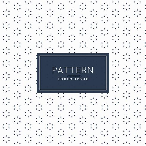 stylish minimal flower pattern background