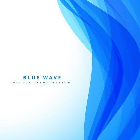 blue wave background design illustration