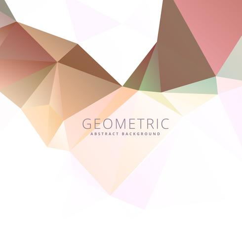 low polygonal abstract background