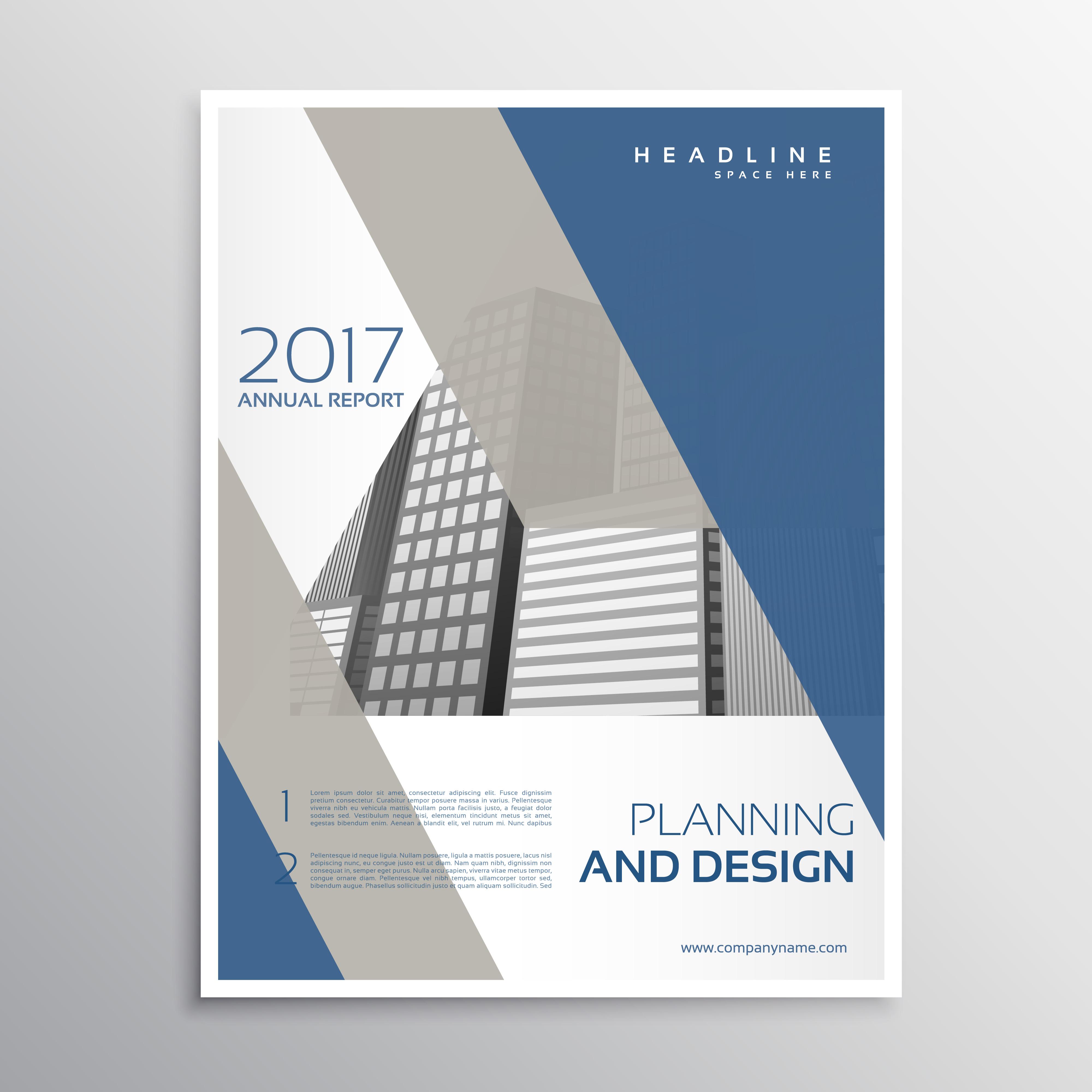 Elegant Bookcover Design: Minimal Elegant Brochure Or Leaflet Template Design With