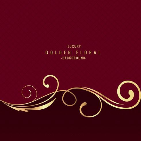 Premium luxury floral background