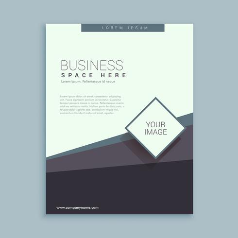 brochure design template for business