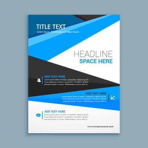 company business brochure template