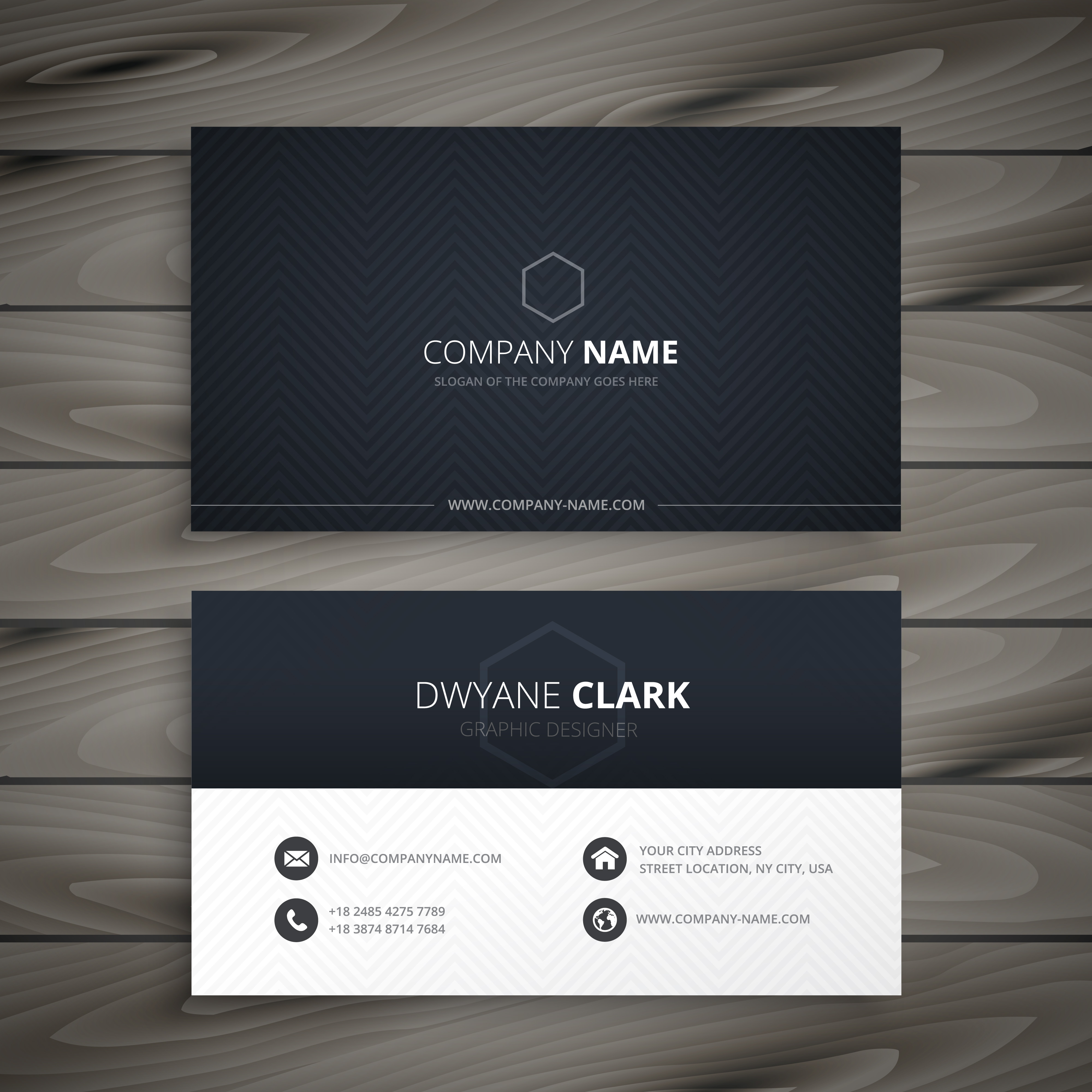 Clean dark business card business vector design illustration clean dark business card business vector design illustration download free vector art stock graphics images colourmoves