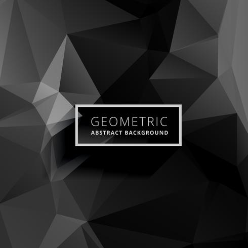 Black Polygon Background Free Vector Art 63303 Free Downloads