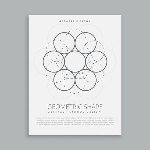 círculos de geometría sagrada