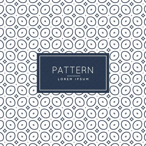 pattern background with oval shapes