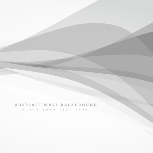 grey whte abstract wave background design