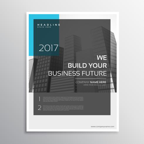 magazine cover annual report brochure template