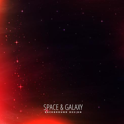 space background with red lights